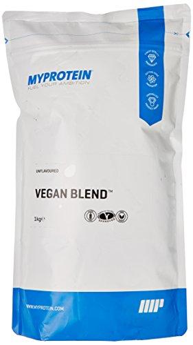 Myprotein Vegan Protein Blend Unflavoured, 1er Pack (1 x 1 kg)