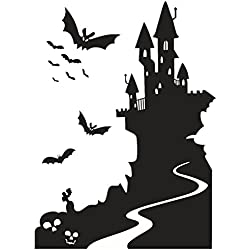 Charberry Castle Halloween Wall Sticker