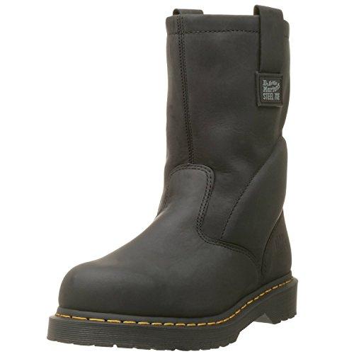 Dr. Martens Men's Icon Industrial Strength Steel Toe Boot ,Black ,9 UK/10 M US