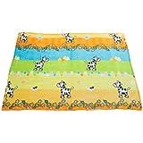 Mee Mee MM-98062 A_Multi_1 Soft Printed Baby Blanket (Multicolor)