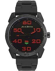 John Smith Black Dial Analog Watch For Men - JS10030_BL