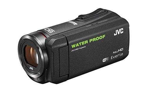 JVC KENWOOD JVC ビデオカメラ EVERIO 防水 防塵 内蔵メモリー64GB ブラック GZ-RX500-B