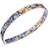 "Tatum Floral Navy : France Luxe 1/2"" Ultracomfort Headband - Tatum Floral Navy"