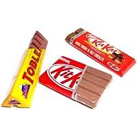 Nestle 2 Kit Kat Toblerone Chocolate Bar 3pcs/set Dollhouse Miniature Collectables Fridge Magnet