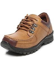TEN Men's Tan Leather Boots