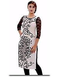 Whynot Indian Ethnic Pure Cotton Designer Plain Kurti Casual Wear Kurta