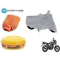 ESHOPITUDE-Bike & Car Cleaning & Utility Combo Set Of 3-Honda CB DAZZLER
