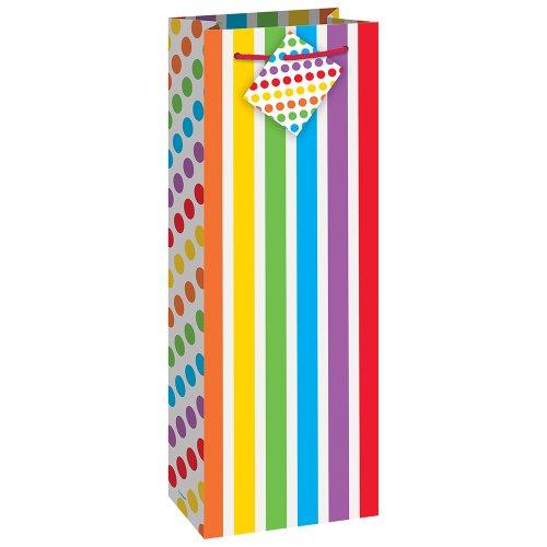 Unique Rainbow Party Wine Bag, Multicolor