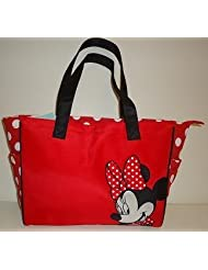 Minnie RED Polka Dot Tote Diaper Bag