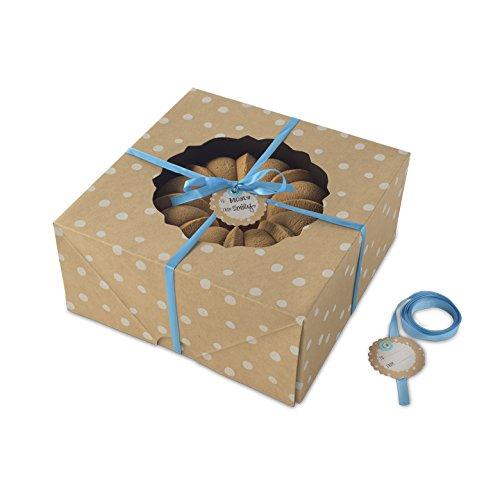 Nordic Ware Bake and Gift Large Kraft Paper Bundt Box, Multicolor