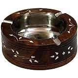 SG Wooden Ash Tray, Antique Ash Tray, Showpiece