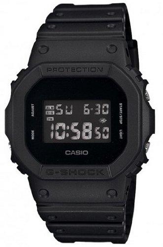 Casio - Men's Watches - Casio G-Shock - Dw-5600Bb-1Er Monotone Matte Black Watch