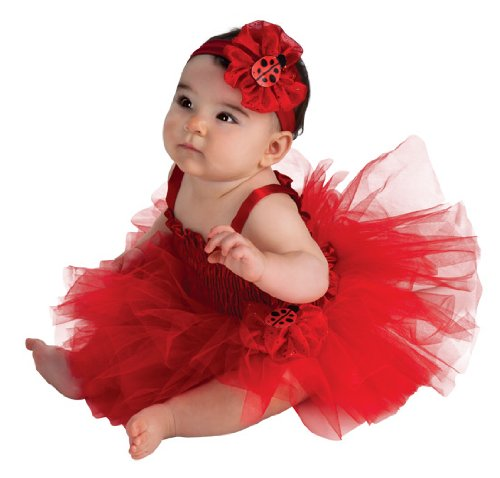 Newborn Ladybug Tutu Dress