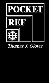 Pocket Reference: Thomas J. Glover: 9781885071002: Amazon ...
