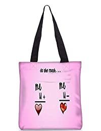 Snoogg Do The Match Digitally Printed Utility Tote Bag Handbag Made Of Poly Canvas