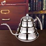 1200ML Stainless Steel Coffee Drip Kettle Tea Pot Coffee Pot Coffee Percolators
