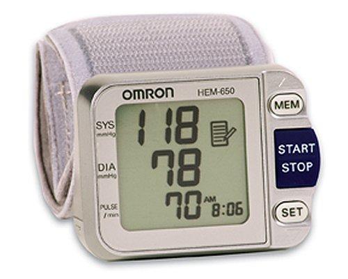 Omron HEM-650 Wrist Blood Pressure Monitor with APS