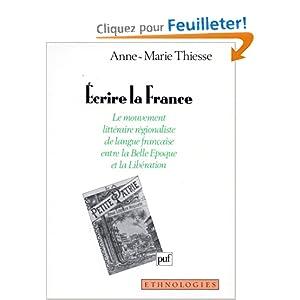 Écrire la France