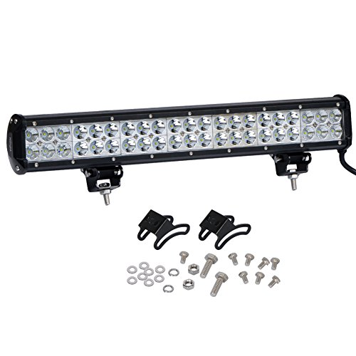 Nilight 20″ 126w LED Flood Spot Combo Driving Fog Light Led Light Bar Work Light for SUV Boat 4×4 Jeep Lamp,2 Years Warranty