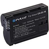 Lusso Liv PULUZ EN-EL15 7. 4V 1500mAh Li-ion Battery For Nikon D7000 / D800 / D800E / V1 / MB-D11 / MB-D12