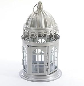 Garden tea light lanterns