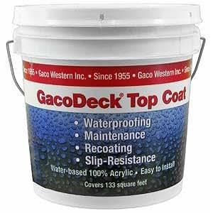 Gaco Deck Top Coat 1 Gallon Desert DT49 - Deck Waterproof