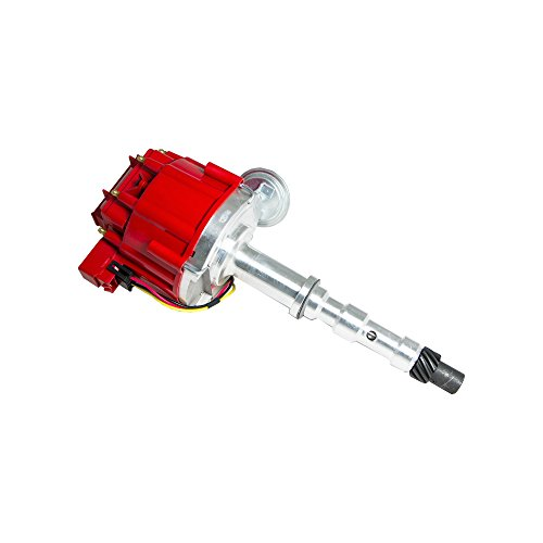 Top Street Performance JM6517R HEI Distributor with Red Cap