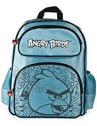 Original Rovio Angry Birds Smash Backpack School Bag With Shoulder Straps (Blue)