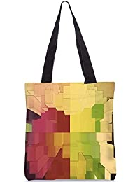 Snoogg Abstract Antique Design Digitally Printed Utility Tote Bag Handbag Made Of Poly Canvas