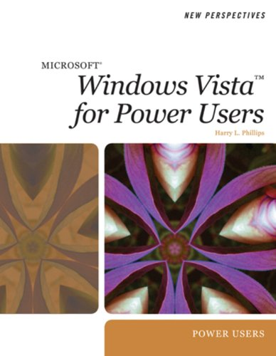 New Perspectives on Microsoft Windows Vista for Power Users (Available Titles Skills Assessment Manager (SAM) - Office 2007) Pdf