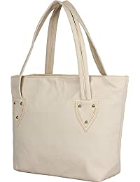 MAK Women's Handbag (Cream, Crgo-Cream)