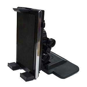 星光産業 取り付け自在なゲル吸盤タイプ iPhone/各種スマートフォン/iPad mini/Nexus7等8インチタブレットPCまで対応 タブレットホルダー ブラック EC-151