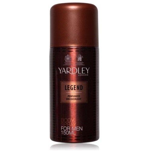 Yardley Legend Body Spray For Men (Pack Of 2) 150 Ml