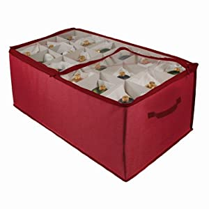 christmas ornament storage ornament storage 54 cell 31178