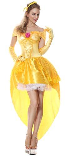 Halloween 2017 Disney Costumes Plus Size & Standard Women's Costume Characters - Women's Costume Characters Women's Enchanting Princess Belle Fairy Tale Costume