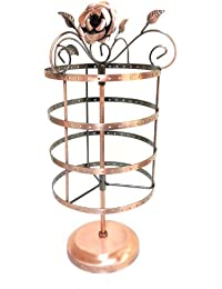 72 Pairs/144 Holes Rose On Top Rotating Earring Holder / Earring Tree / Earring Oraganizer / Earring Stand / Earring...