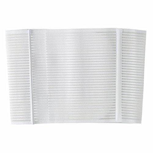 Chicco 00001136000020 - Faja postparto de velcro, talla M, color blanco
