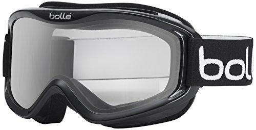 Bolle Goggles Mojo Shiny Black Frame, Clear Lens