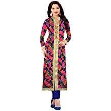 Sunday Best Selling Offer On Semi_Stiched Multi Color Kurti Low Price On Amazon (1054_Digital_Printed_Kurti) By...