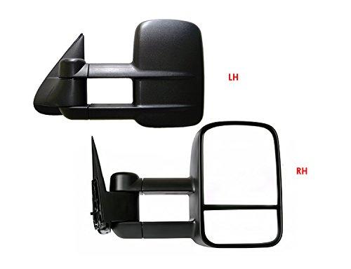 1999-2007 Chevy/GMC Silverado/Sierra Manual & Telescoping Towing Mirror Pair (2000 2001 2002 2003 2004 2005 2006 )