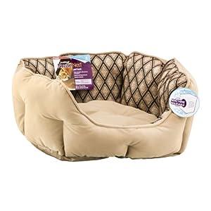 Pooch Planet Nuzzle Nest Pet Bed: Amazon.com: Grocery