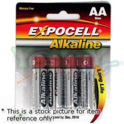 Expedia AA Alkaline Batteries- 4 Pcs / Pack