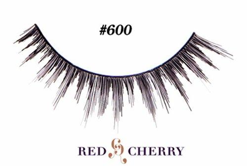 Red Cherry False Eyelashes (Pack of 10 pairs) (600)