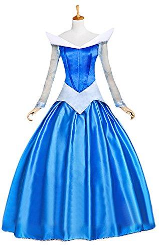 Halloween 2017 Disney Costumes Plus Size & Standard Women's Costume Characters - Women's Costume CharactersDeluxe Adult Women's Sleeping Beauty Princess Costume Dress Custom Made - Made-to-Fit