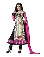 Tantalizing Black Color Party Wear Anarkali Suit