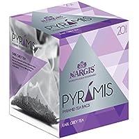 Nargis Earl Grey Indian Black Tea 20 Silk Pyramid Tea Bags