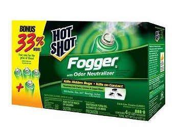 United HG20217/96181 Hot Shot Indoor Fogger Pest Controller,