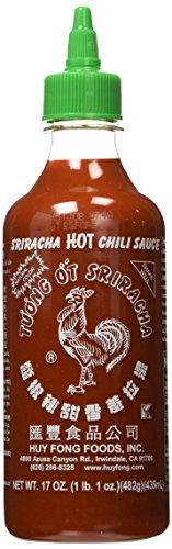 Huy Fong, Sriracha Hot Chili Sauce, 17 Ounce Bottle