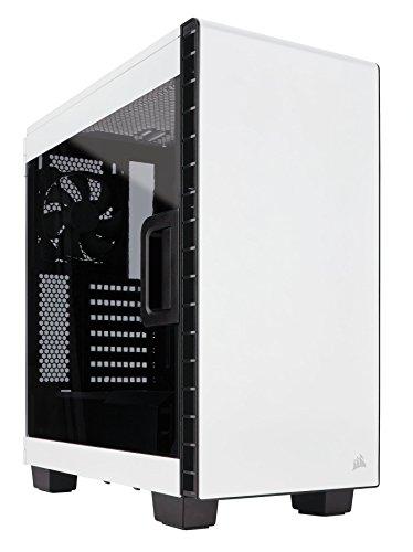 Corsair Carbide Clear 400C Compact Mid-Tower Case (White)