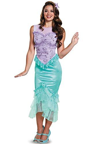 Halloween 2017 Disney Costumes Plus Size & Standard Women's Costume Characters - Women's Costume CharactersAriel Classic Adult Costume